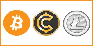 Bitcoins, Litecoins und diverse andere Altcoins
