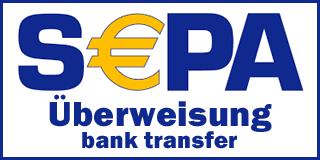 SEPA-Überweisung (Vorkasse)