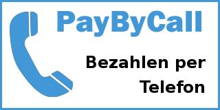 PayByCall (Bezahlen per Telefon)